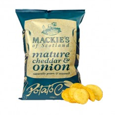 Hampers and Gifts to the UK - Send the Mackies Crisps Mature Cheddar