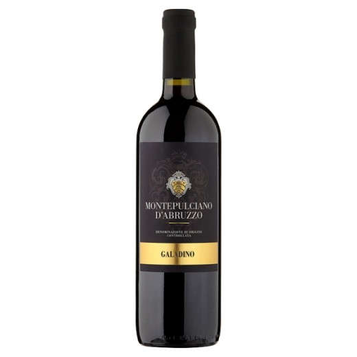 Hampers and Gifts to the UK - Send the Montepulciano D'Abruzzo Galadino Wine - 75cl