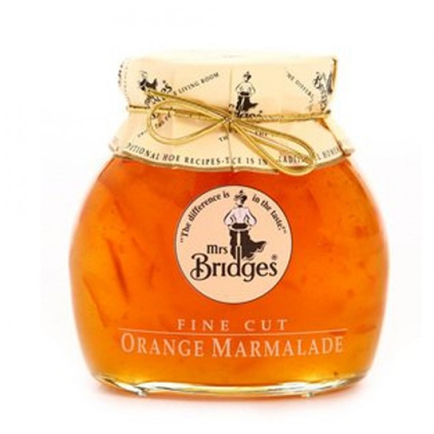 Hampers and Gifts to the UK - Send the Mrs Bridges Fine Cut Orange Marmalade