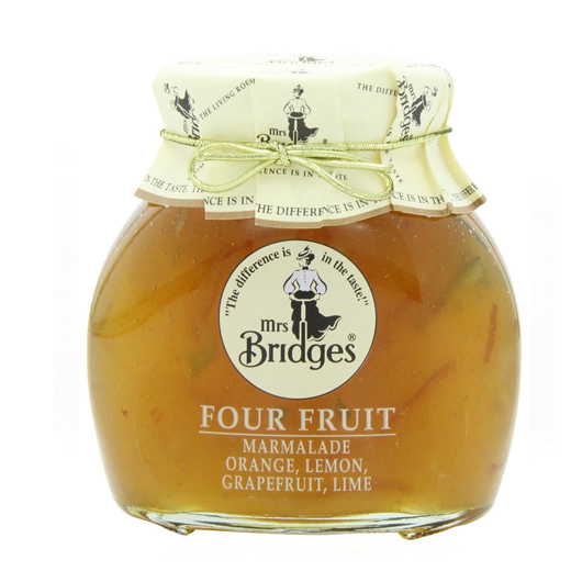 Hampers and Gifts to the UK - Send the Mrs Bridges Four Fruit Preserve