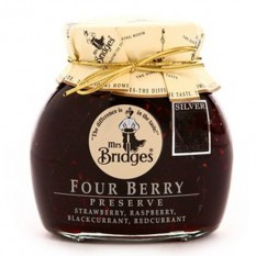 Hampers and Gifts to the UK - Send the Mrs Bridges Four Fruit Berry Preserve