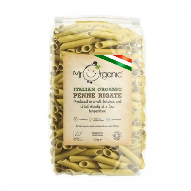 Hampers and Gifts to the UK - Send the Mr Organic Italian Penne Rigate