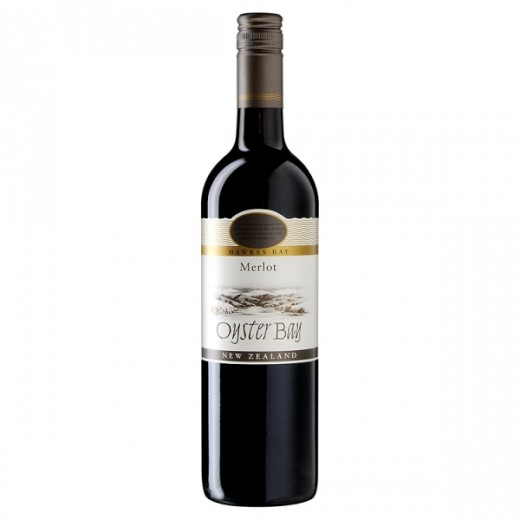Hampers and Gifts to the UK - Send the Oyster Bay Merlot, Hawkes Bay - 75cl