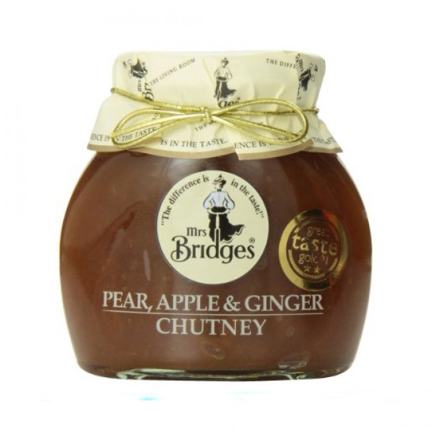 Hampers and Gifts to the UK - Send the Mrs Bridges Pear Apple and Ginger Chutney