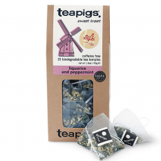 Hampers and Gifts to the UK - Send the Teapigs Liquorice and Peppermint Tea