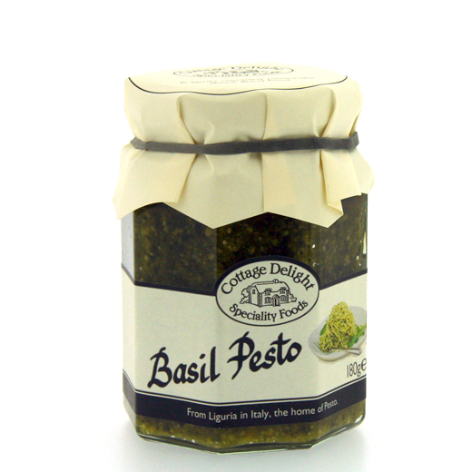 Hampers and Gifts to the UK - Send the Cottage Delights Basil Pesto