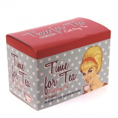Hampers and Gifts to the UK - Send the New English Teas Time for Tea Carton
