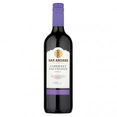Hampers and Gifts to the UK - Send the San Andres Cabernet Sauvignon - 75cl