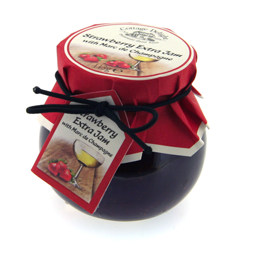 Hampers and Gifts to the UK - Send the Cottage Delight Strawberry Extra Jam
