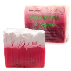 Hampers and Gifts to the UK - Send the Handmade Soap - Strawberries and Cream