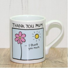 Hampers and Gifts to the UK - Send the I Thank You Mum Gift Mug