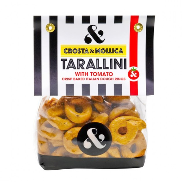 Hampers and Gifts to the UK - Send the Crosta & Mollica Tarallini