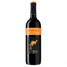 Hampers and Gifts to the UK - Send the Yellow Tail Merlot - 75cl