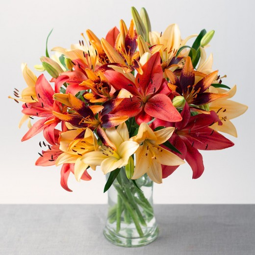 Hampers and Gifts to the UK - Send the Autumn Lilies