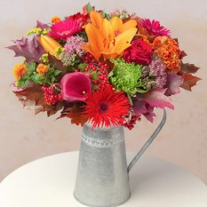 Hampers and Gifts to the UK - Send the Autumn Skies Bouquet