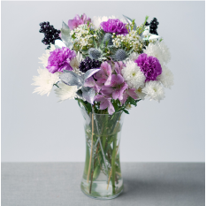 Hampers and Gifts to the UK - Send the Lilac Frost Flowers