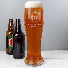 Hampers and Gifts to the UK - Send the Personalised Any Occasion Giant Pint Glass