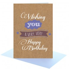 Hampers and Gifts to the UK - Send the Happy Birthday Greeting Card