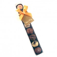 Hampers and Gifts to the UK - Send the Van Roy Assorted Truffles Finger Box
