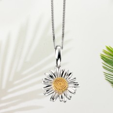 Hampers and Gifts to the UK - Send the  Sterling Silver Daisy Necklace