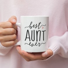 Hampers and Gifts to the UK - Send the Best Aunt Ever Mug