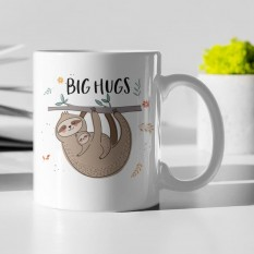 Hampers and Gifts to the UK - Send the Big Hugs Sloth Mug