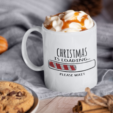Hampers and Gifts to the UK - Send the Christmas Is Loading Mug