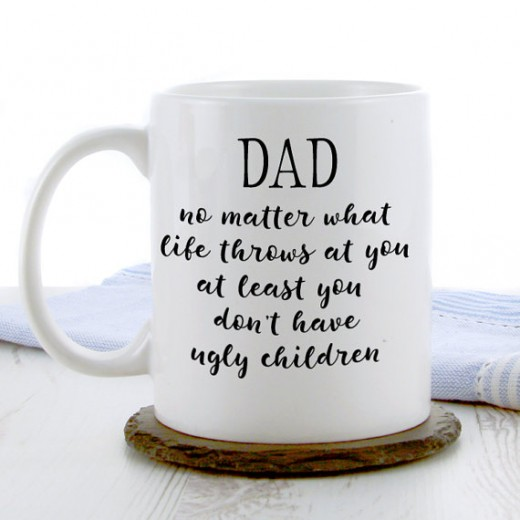 Hampers and Gifts to the UK - Send the Dad No Matter What Life Throws At You Mug