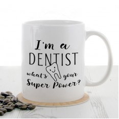 Hampers and Gifts to the UK - Send the I'm a Dentist Super Power Mug