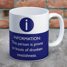 Hampers and Gifts to the UK - Send the Drunken Twatishness Mug