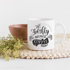 Hampers and Gifts to the UK - Send the Freshly Brewed Coffee Mug