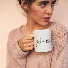 Hampers and Gifts to the UK - Send the Girl Boss Mug