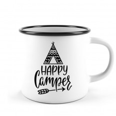 Hampers and Gifts to the UK - Send the Happy Camper Camping Mug