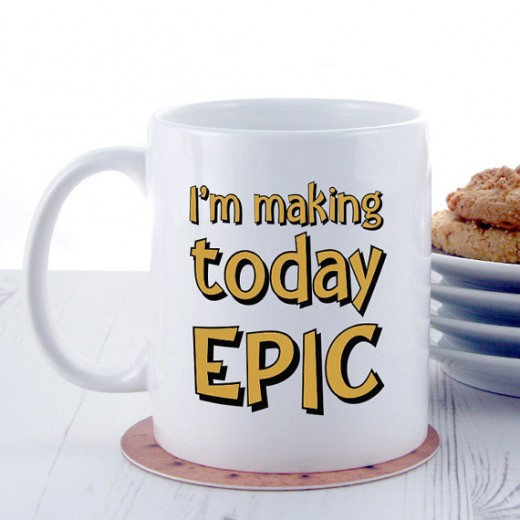 Hampers and Gifts to the UK - Send the I'm Making Today Epic Mug