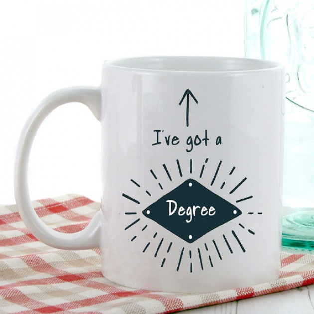 Hampers and Gifts to the UK - Send the I've Got a Degree Mug