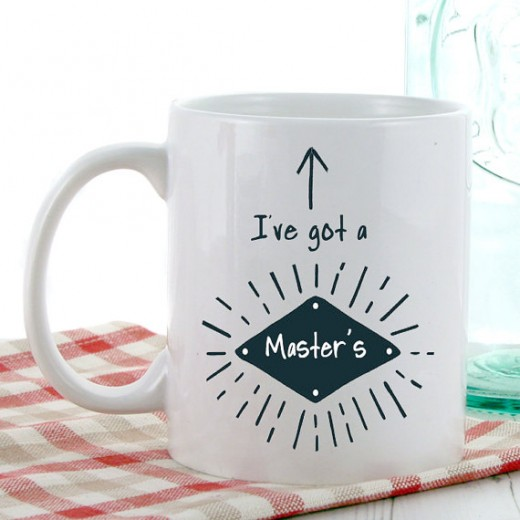 Hampers and Gifts to the UK - Send the I've Got a Masters Mug