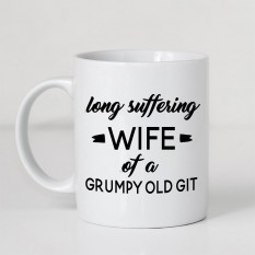 Hampers and Gifts to the UK - Send the Long Suffering Wife Mug