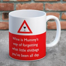 Hampers and Gifts to the UK - Send the Mummy's Wine Mug