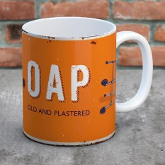 Hampers and Gifts to the UK - Send the OAP Mug - Old And Plastered