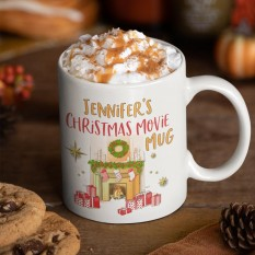 Hampers and Gifts to the UK - Send the Personalised Christmas Movie Mug