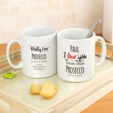 Hampers and Gifts to the UK - Send the Personalised I Love You More Than... Mug