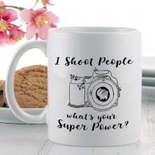 I Shoot People Power Mug