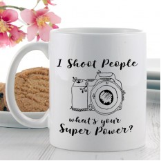 Hampers and Gifts to the UK - Send the I Shoot People Power Mug