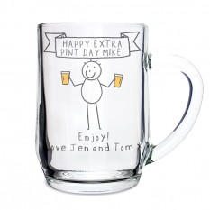 Hampers and Gifts to the UK - Send the Personalised Purple Ronnie Cheers Tankard