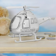 Hampers and Gifts to the UK - Send the Personalised Helicopter Money Box