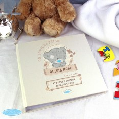 Hampers and Gifts to the UK - Send the Personalised Tiny Tatty Teddy Baby Album