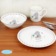 Hampers and Gifts to the UK - Send the Personalised Tiny Tatty Teddy Caterpillar Breakfast Set