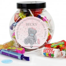 Hampers and Gifts to the UK - Send the Personalised Sweet Jar - Me to You Tatty Bear