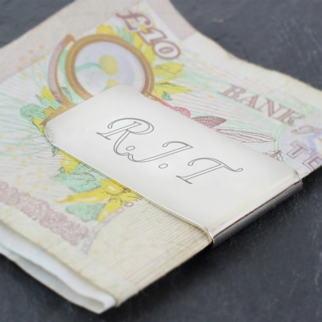 Hampers and Gifts to the UK - Send the Engraved Money Clip