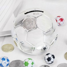 Hampers and Gifts to the UK - Send the Personalised Football Money Box
